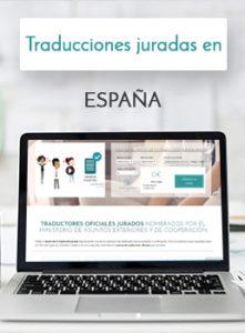 Traducciones juradas en España