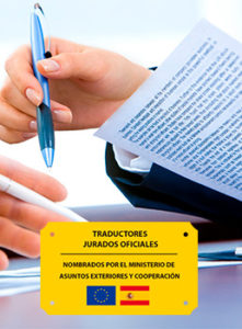 Traductores jurados certificados por el MAEC